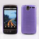Custodia HTC Desire Bravo G7 A8181 Rete Cover Rigida Guscio - Porpora