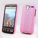 Custodia HTC Desire Bravo G7 A8181 Rete Cover Rigida Guscio - Rosa