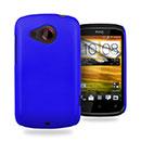 Custodia HTC Desire C A320e Plastica Cover Rigida Guscio - Blu