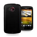 Custodia HTC Desire C A320e Plastica Cover Rigida Guscio - Nero