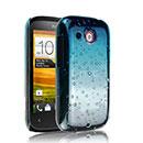 Custodia HTC Desire C A320e Sfumatura Cover Bumper - Luce Blu