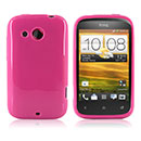 Custodia HTC Desire C A320e Silicone Case - Fucsia