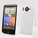 Custodia HTC Desire HD G10 A9191 Rete Cover Rigida Guscio - Bianco