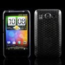 Custodia HTC Desire HD G10 A9191 TPU Diamante Silicone Case - Grigio