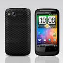Custodia HTC Desire S G12 S510e Rete Cover Rigida Guscio - Nero