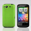 Custodia HTC Desire S G12 S510e Rete Cover Rigida Guscio - Verde