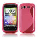 Custodia HTC Desire S G12 S510e S-Line Silicone Bumper - Fucsia