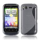 Custodia HTC Desire S G12 S510e S-Line Silicone Bumper - Grigio