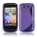 Custodia HTC Desire S G12 S510e S-Line Silicone Bumper - Porpora