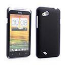 Custodia HTC Desire VC T328D Plastica Cover Rigida Guscio - Nero