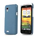 Custodia HTC Desire VT T328t Sabbie Mobili Cover Bumper - Luce Blu