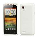 Custodia HTC Desire VT T328t Silicone Case - Bianco
