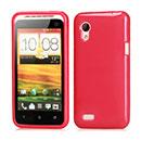 Custodia HTC Desire VT T328t Silicone Case - Fucsia