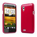 Custodia HTC Desire VT T328t Silicone Case - Rosso