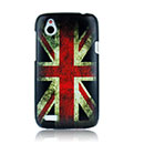 Custodia HTC Desire X T328e La bandiera del Regno Unito Cover Rigida - Misto