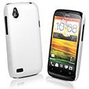 Custodia HTC Desire X T328e Plastica Cover Rigida Guscio - Bianco