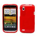 Custodia HTC Desire X T328e Silicone Case - Rosso