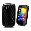 Custodia HTC Explorer A310e TPU Silicone Case Gel - Nero