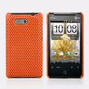 Custodia HTC HD Mini T5555 Aria G9 Rete Cover Rigida Guscio - Arancione