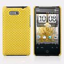 Custodia HTC HD Mini T5555 Aria G9 Rete Cover Rigida Guscio - Giallo