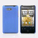 Custodia HTC HD Mini T5555 Aria G9 Rete Cover Rigida Guscio - Luce Blu