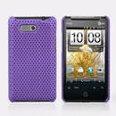 Custodia HTC HD Mini T5555 Aria G9 Rete Cover Rigida Guscio - Porpora