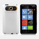 Custodia HTC HD7 T9292 Plastica Cover Rigida Guscio - Bianco