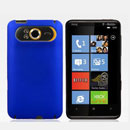 Custodia HTC HD7 T9292 Plastica Cover Rigida Guscio - Blu