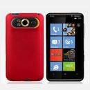 Custodia HTC HD7 T9292 Plastica Cover Rigida Guscio - Rosso
