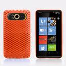Custodia HTC HD7 T9292 Rete Cover Rigida Guscio - Arancione