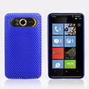 Custodia HTC HD7 T9292 Rete Cover Rigida Guscio - Blu