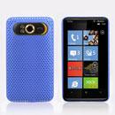 Custodia HTC HD7 T9292 Rete Cover Rigida Guscio - Luce Blu