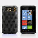 Custodia HTC HD7 T9292 Rete Cover Rigida Guscio - Nero