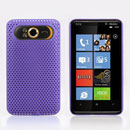 Custodia HTC HD7 T9292 Rete Cover Rigida Guscio - Porpora
