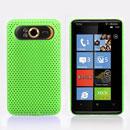 Custodia HTC HD7 T9292 Rete Cover Rigida Guscio - Verde
