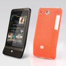Custodia HTC Hero G3 A6262 Rete Cover Rigida Guscio - Arancione