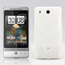 Custodia HTC Hero G3 A6262 Rete Cover Rigida Guscio - Bianco