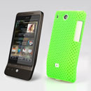 Custodia HTC Hero G3 A6262 Rete Cover Rigida Guscio - Verde