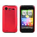 Custodia HTC Incredible S G11 S710e Plastica Cover Rigida Guscio - Rosso