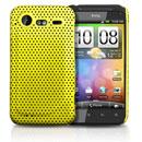 Custodia HTC Incredible S G11 S710e Rete Cover Rigida Guscio - Giallo