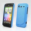Custodia HTC Incredible S G11 S710e Rete Cover Rigida Guscio - Luce Blu