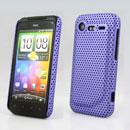 Custodia HTC Incredible S G11 S710e Rete Cover Rigida Guscio - Porpora