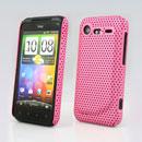 Custodia HTC Incredible S G11 S710e Rete Cover Rigida Guscio - Rosa
