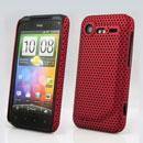 Custodia HTC Incredible S G11 S710e Rete Cover Rigida Guscio - Rosso