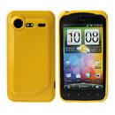Custodia HTC Incredible S G11 S710e Silicone Case - Giallo