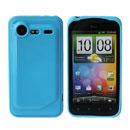 Custodia HTC Incredible S G11 S710e Silicone Case - Luce Blu