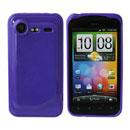 Custodia HTC Incredible S G11 S710e Silicone Case - Porpora