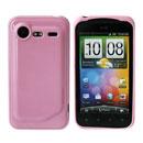 Custodia HTC Incredible S G11 S710e Silicone Case - Rosa