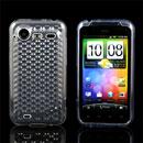 Custodia HTC Incredible S G11 S710e TPU Diamante Silicone Case - Chiaro