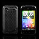 Custodia HTC Incredible S G11 S710e TPU Diamante Silicone Case - Grigio